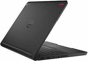 Touch screen Dell 11.6 inch Chromebook Laptop Chrome OS 4GB RAM 16GB SSD webcam