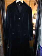 B.young Womens black long coat Size S