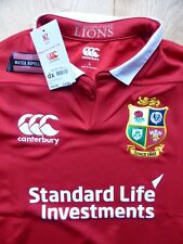 Canterbury British Lions 2017 Match Day Pro Rugby Shirt L Brand New With Tags