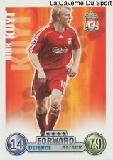 DIRK KUYT # NETHERLANDS LIVERPOOL.FC CARD PREMIER LEAGUE 2008 TOPPS