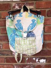 Designers Guild Boutique Brand Baby Diaper Bag Kids Backpack Vinyl Lined