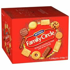 McVities Family Circle Biscuits Box Family Mix Varieties Cookies Pack of 1.24kg