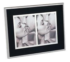 Cadre double photos contour noir Décoration