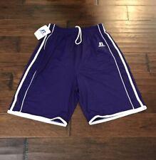 Russell Athletic Men's Stock Purple Basketball Shorts Sz. L NEW 3B6VHMK