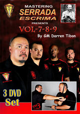 3 DVD Box Mastering Serrada Escrima Vol.7-9 By Darren Tibon - Kali Arnis Eskrima