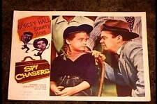 SPY CHASERS 1955 LOBBY CARD #5 BOWERY BOYS