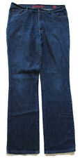 New York & Company Dark Wash Battery Park B Jeans-Womens-Sz 14 Tall  EXCELLENT!