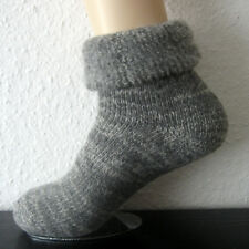 1 Pair of Warm Men's Thermal Wool Socks with Cover 70% Wool Grey 39 To 50