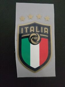 Italy National Team Soccer Jersey Patch Badge Iron On