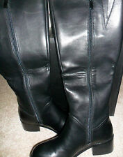 Women's SERGIO BARI Felicia Black Knee-High Flat Boot - Size 7