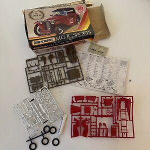 VINTAGE MATCHBOX Model Kit M.G TC SPORTS 1/32 Boxes Unused [wes]