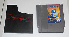 Nintendo NES 8 bit ADVENTURES OF LOLO 2 - Pal A OTTIMO ITA Scatola 2