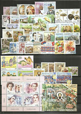 SERBIA 2019,COMPLETE YEAR,ANNO COMPLETA,JAHRGANG,RED CROSS,ADITIONAL STAMPS, MNH