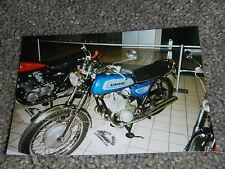 OLD VINTAGE MOTORCYCLE PICTURE PHOTOGRAPH KAWASAKI BIKE