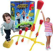 Stomp Rocket 20008 Ultra Rocket Launcher, Red NEW UK Free Delivery
