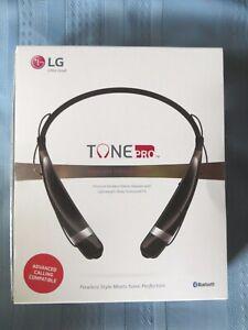 LG Tone Pro Bluetooth Wireless Stereo Headset  Black HBS-760   New Open Box