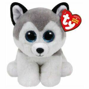 TY 42183 Buff Husky - Beanie Babies Plush, Multicolored 15cm