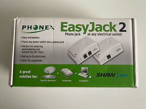 Phonex Easy Jack 2 PX-211D Wireless Phone to Power DATA Base & Extension WORKS!