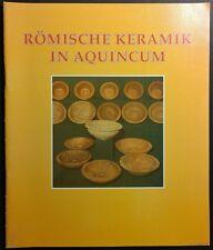 Römische Keramic in Aquincum