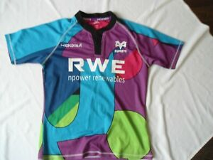 RARE OSPREYS WALES RUGBY JERSEY SHIRT SIZE MED