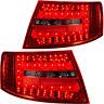 Rückleuchten Set Satz LED für Audi A6 4F Limo Bj. 04-08 rot smoke schwarz 6 Pin