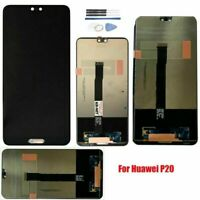 For Huawei P20 LCD Display Touch Screen Digitizer Assembly Black + Tools Replace