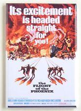 Flight of the Phoenix FRIDGE MAGNET (2 x 3 inches) movie poster
