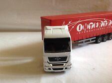 Joal Man V8 Truck Tautliner Metal Die-Cast Ref396 1:50 Scale New In Box