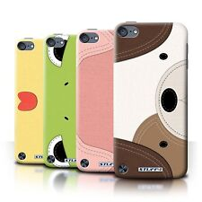 STUFF4 Back Case/Cover/Skin for Apple iPod Touch 5/Animal Stitch Effect