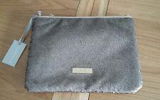 Carvela Kurt Geiger Bronze Sequin Clutch Padded Bag Handbag