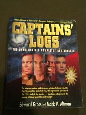 Star Trek Captains Logs Unauthorized Complete Trek Voyages Large Softback Book