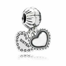 PANDORA 791383 My Special Sister Charm