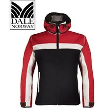 Dale of Norway Men's Ski Jacket- Knitshell Design Large Red White Blue