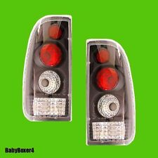 Ford Falcon BA 2 & BF Ute Black Clear Altezza Tail Lights Right Left Hand Side