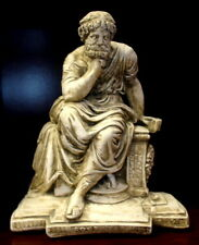 Statue of Seated Socrates Home Decor Sculpture Statue Art