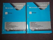 1997 GM CHEVY CHEVROLET GEO PRIZM Service Shop Repair Workshop Manual Set OEM