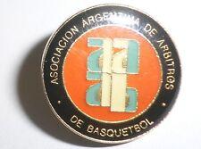 REFEREE BASKETBALL PIN Asociacion Argentina de Arbitros de Basquetbol Pin