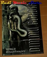 POSTER PROMO DIMMU BORGIR WORLD MISANTHROPY 84 X 59,5 cm NOcd dvd vhs lp live mc