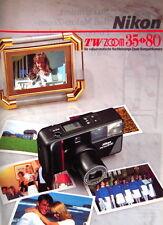 Nikon TW ZOOM 35 - 80 Prospekt brochure deutsch german - (0740)