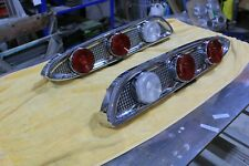 1959 Edsel left and right tail light assemblies.