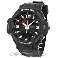 *NEW* CASIO G-SHOCK MENS AVIATION TWIN SENSOR WATCH - GA-1000-1A - RRP £260