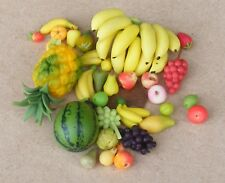 1:12 Scale Selection Of 28 Pieces of Loose Fruit Tumdee Dolls House Accessory