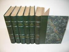 LOT 6 VOLUMES RELIES FOGAZZARO GALDOS NIEVO VERGA CLUB BIBLIOPHILE 127