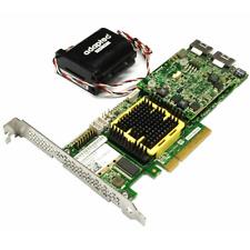 Adaptec ASR-5805Z 8 Port SAS/SATA2 PCIe 512MB 2266900-R RAID Card w/ Battery