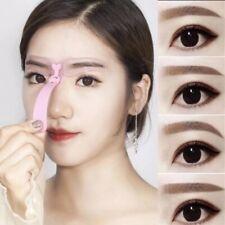 4Pcs Reusable Eyebrow Template Shaping Defining Stencils Makeup Tool