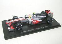 McLaren MP4-28 No.6 Sergio Perez Australian GP 2013