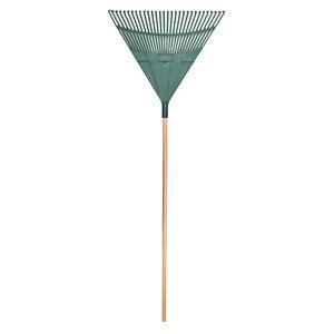 Large Garden Rake Lawn Leaf Plastic Gardening Tools Heavy Duty