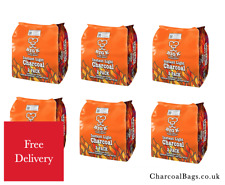 12 x Instant Light BBQ Charcoal Bags (12 x 1kg) | CharcoalBags | Free Delivery