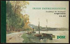 "HuskyStamps ~ Ireland #890b Complete Booklet, ""Irish Impressionism"", 7 Pictures"