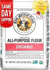 King Arthur Unbleached Organic All-Purpose Flour 2 LB